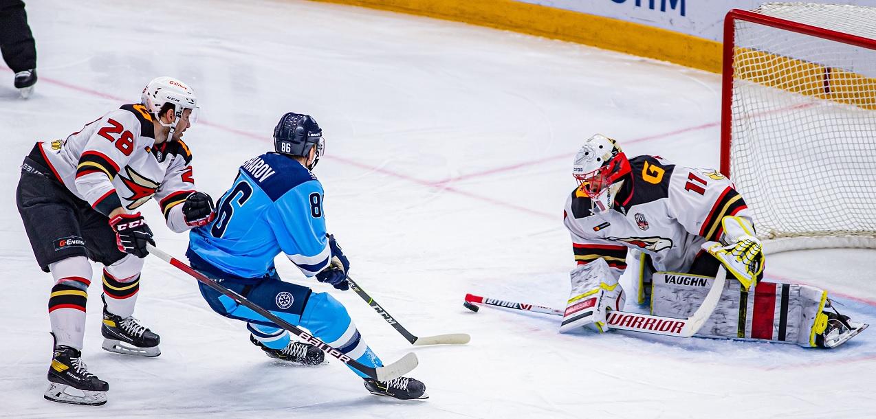 Хоккейный матч «Сибирь» - «Авангард»