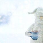 снеговик, снег, зима