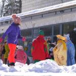 Масленичные гуляния в Новосибирском академгородке 2021