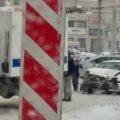 авария, ДТП, снег