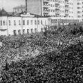 9 мая 1945 г. 150 тысяч новосибирцев вышли на площадь имени Свердлова на стихийный митинг