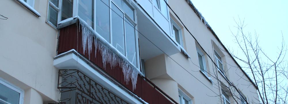 сосульки на окне наледь снег