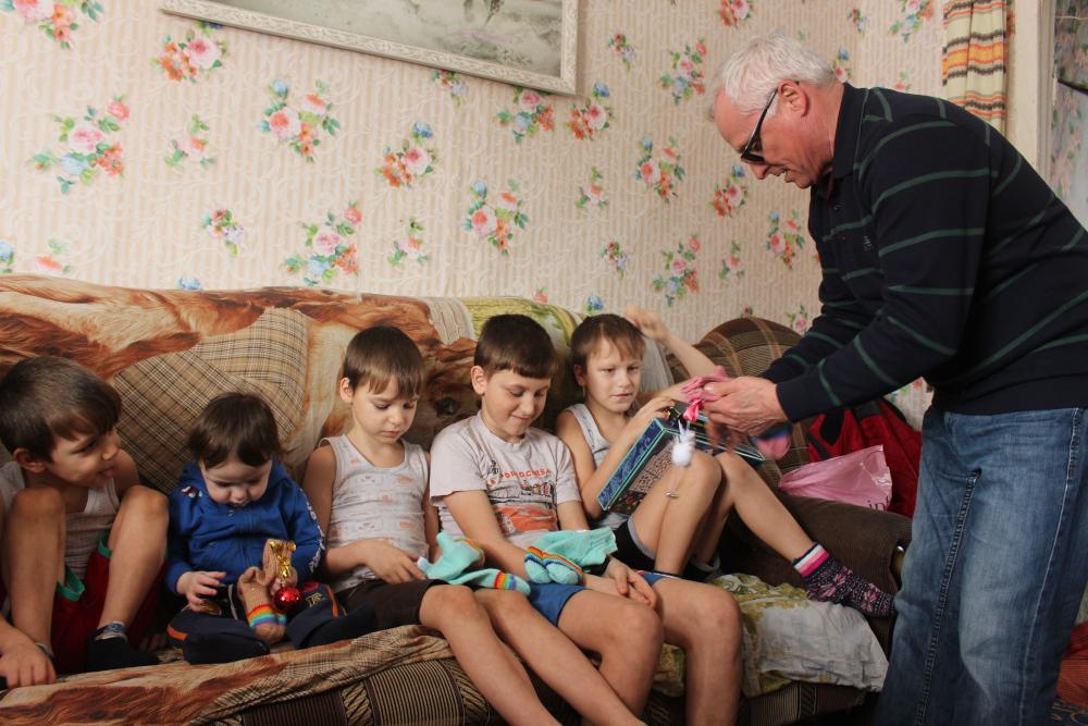 В районах Омской области работает детская выездная паллиативная служба