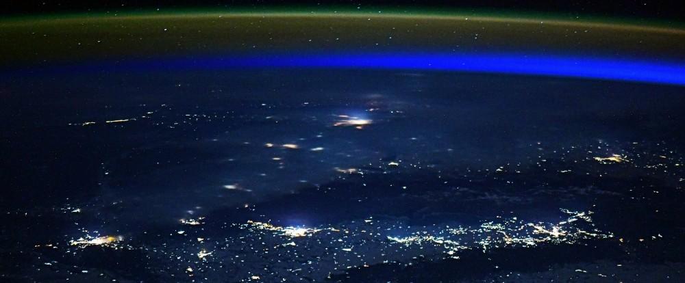 Новосибирск из космоса