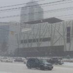 Шестибальные пробки сковали Новосибирск в понедельник, 29 марта