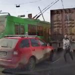 троллейбус, дорога
