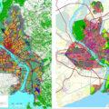 Сравнение Генплана Новосибирска 2007 и 2020 года