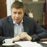 Министр спорта НСО Сергей Ахапов