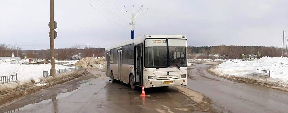 автобус сбил пешехода в Искитиме-10-03-21