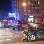 Пьяный водитель устроил ДТП в центре Новосибирска на угнанном автомобиле