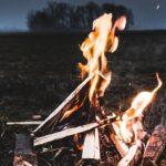 огонь, поле, ночь