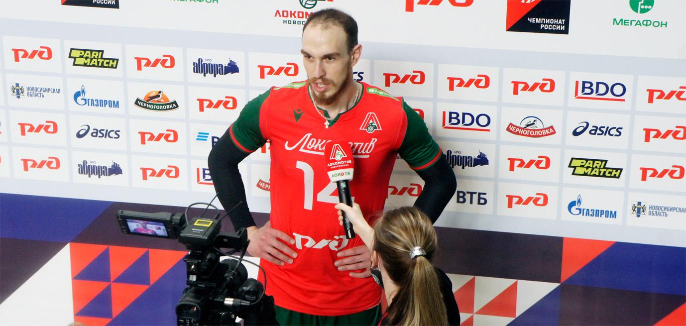 Сербский доигровщик «Локомотива» Марко Ивович