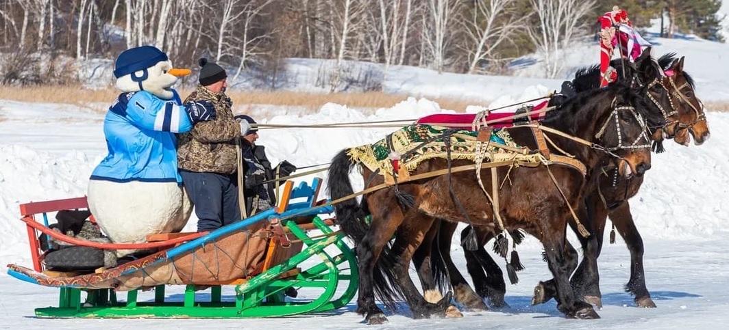 Матч ХК «Сибирь» в Ордынке