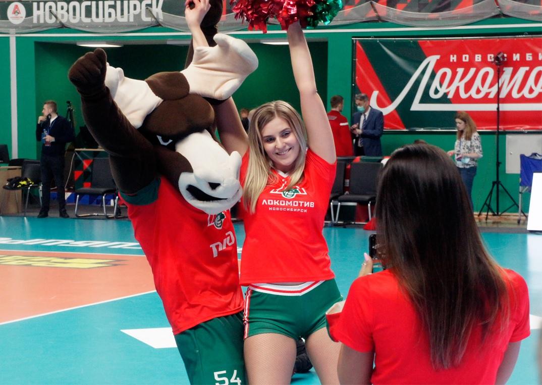 Группа поддержки ВК «Локомотив»