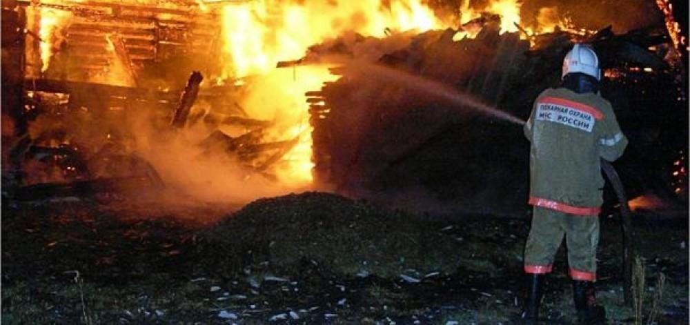 пожар в Сузуне три пожара НСО огонь МЧС