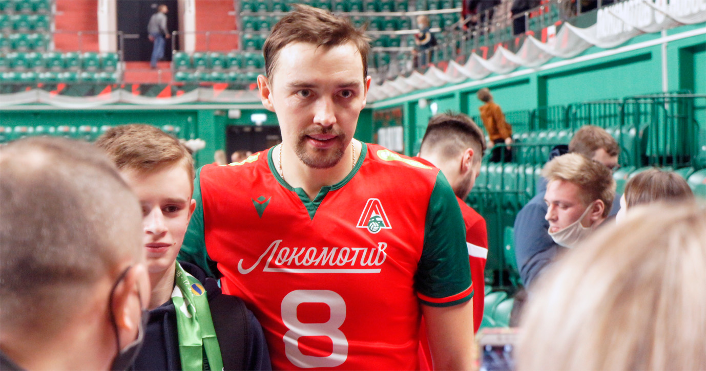 Капитан «Локомотива» Сергей Савин