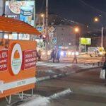 Незаконный стихийный рынок на площади Маркса в Новосибирске демонтируют