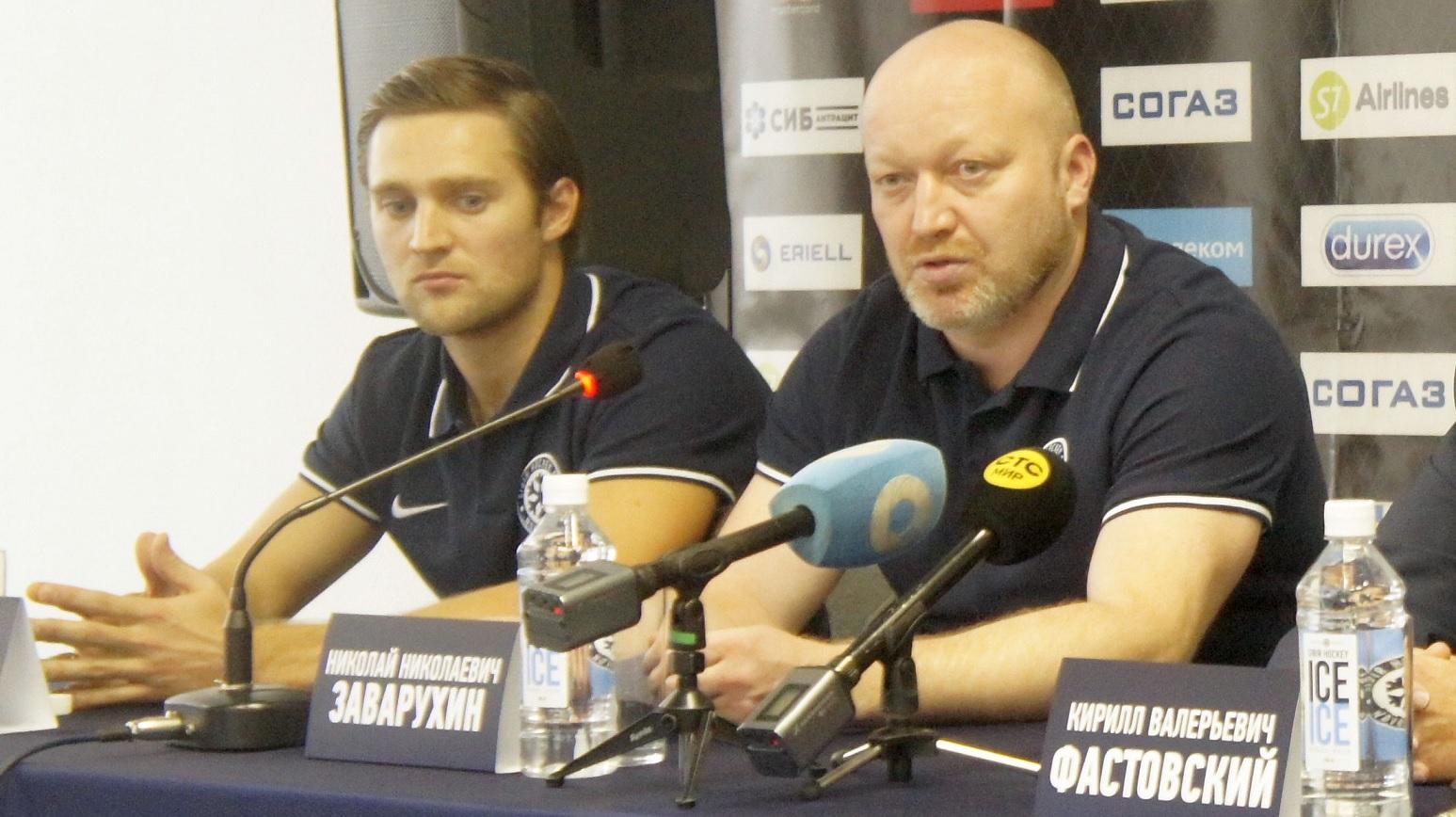 Главный тренер ХК «Сибирь» Николай Заварухин остаётся в клубе
