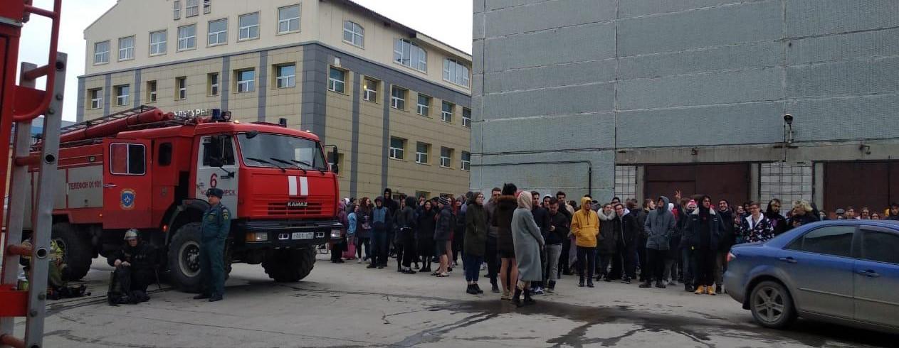 пожар, общежитие, МЧС