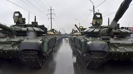 парад Победы, ЦВО, военная техника