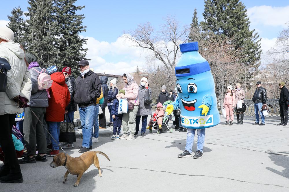 Экологическая акция в Новосибирске