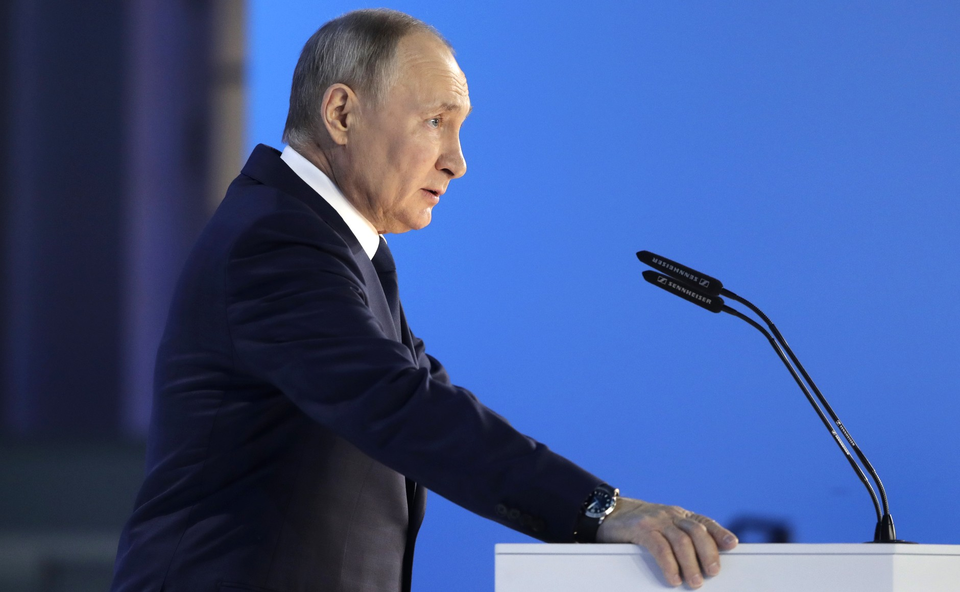 Владимир Путин 21 апреля