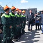 В Сузунском районе прошли учения по спасению леса от пожара