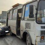 Очередное ДТП с автобусом произошло в Новосибирске