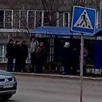 На улице Лесосечной в Новосибирске установили новую остановку