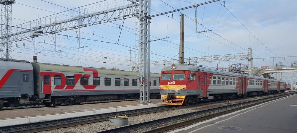поезд, вокзал