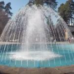 фонтан, зоопарк