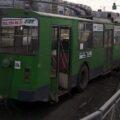 троллейбус, авария
