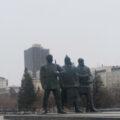 Площадь Ленина 21 апреля 2021 года. Фото Александры Фоменко