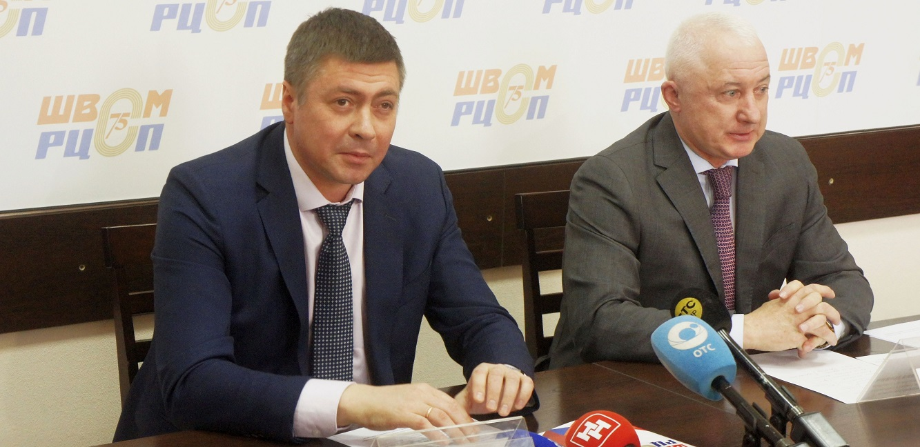 министр физической культуры и спорта Новосибирской области Сергей Ахапов