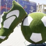 Футбольная инсталляция