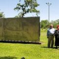 Памятник Гагарину в США