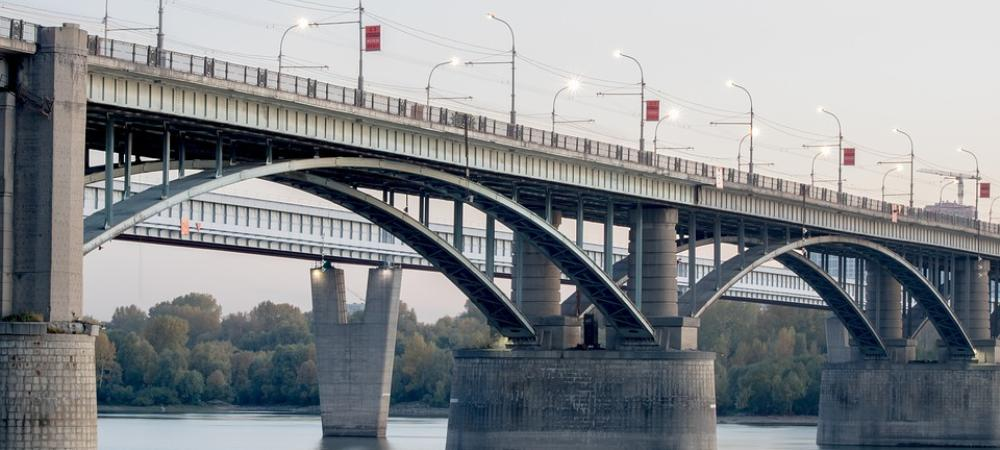 мост, Новосибирск