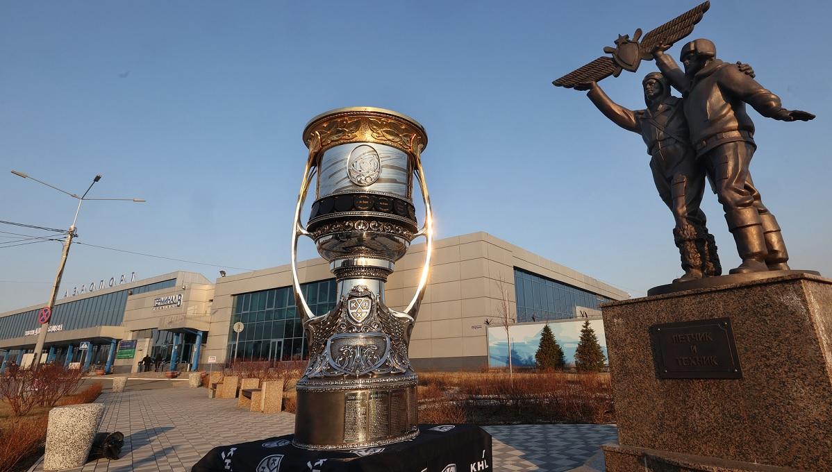 Кубок Гагарина в Омске