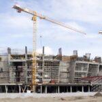 Строящийся ЛДС в Новосибирске. Апрель 2021