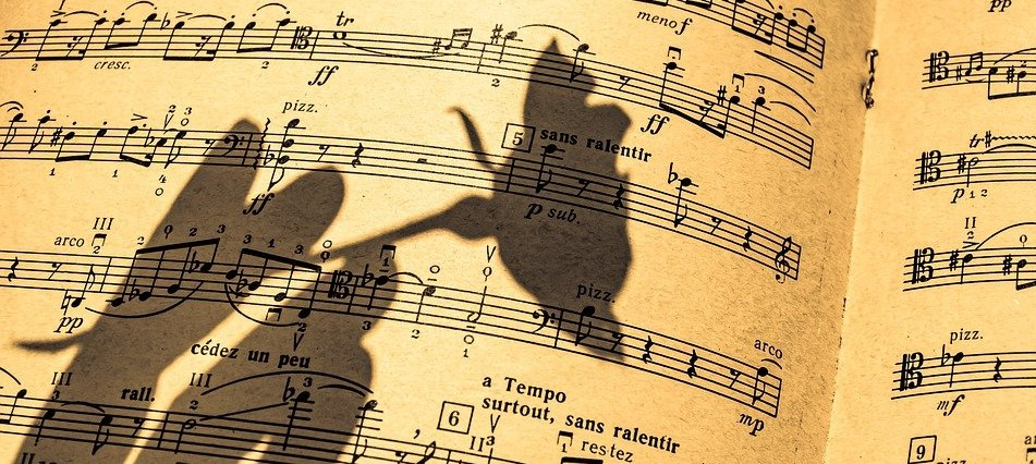 музыка, ноты