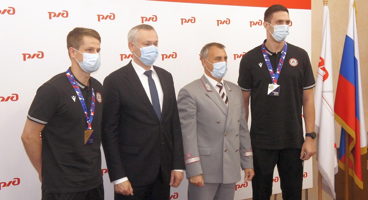 Награждение ВК Новосибирский «Локомотив» (Новосибирск)