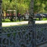ограда Красного проспекта