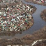 Из-за паводка режим повышенной готовности ввели в трёх районах Новосибирской области