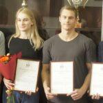 Новосибирские пловцы Владимир Морозов и Арина Суркова