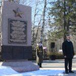 Стелы «Город трудовой доблести» открыли в Томске