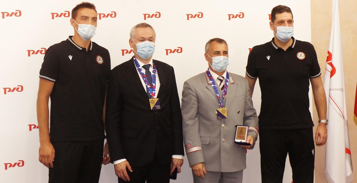Награждение ВК «Локомотив»