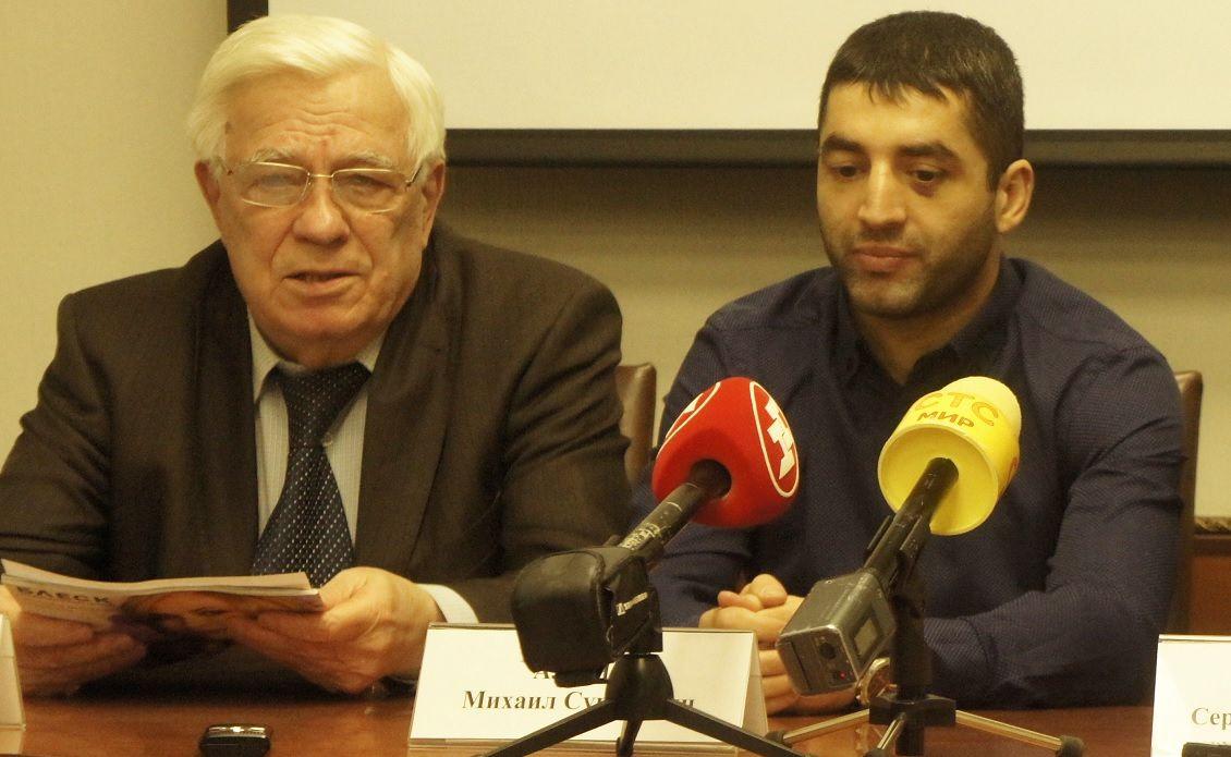 президент Олимпийского совета в Новосибирской области Владимир Захаров