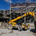 Стройка ледовой арены