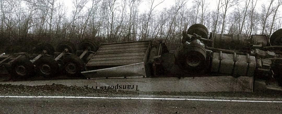авария, фура