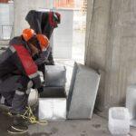 Монтаж вентиляции в новом ЛДС Новосибирска